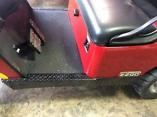 Black Diamond plate rocker panels for 2014 & up E-Z-GO TXT & Valor ONLY