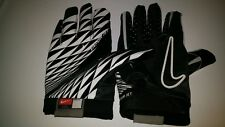 Nike Vapor Jet Football Gloves Adult Size XXL Black/White