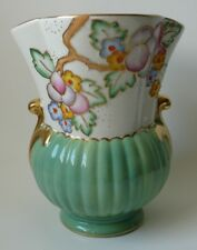 Beautiful Large Hand Painted Art Deco 'Crown Devon' Vase