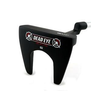 NEW SMT Dead Eye 6 Black Mallet Putter - 2 Way Milled Face - Pick Length & Grip