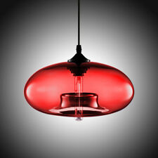 Modern Colored Glass Ceiling Light Chandelier Loft Lighting Fixture Pendant Lamp