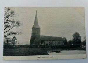 Vintage  1905  Postcard  depicting  Hartfield  Church  Sussex
