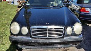Mercedes W210 E Class E300 E320 E420 E430 E55 AMG 96-99 Hood Bonnet Panel BLACK