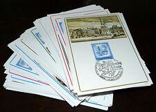 93x Maximumkarten MaxiCard Österreich Sammlung Lot Posten FDC (278