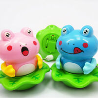 Creative Plastic Frog Shape Baby Clockwork Toy Wind Up Dancing Toy Random Color_