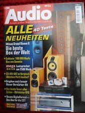 Audio 5/98, Genesis 200i, Heil AMT KITHARA, Burmester 978, GRYPHON tabù at, Wilson x1