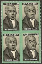 US 5056 Black Heritage Richard Allen forever block MNH 2016