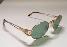 2351e4622b Lunettes De Soleil Paloma Picasso 8401 699 Vintage Neuve NOS Oval Gold Vert