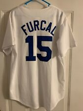 Los Angeles Dodgers Rafael Furcal #15 Majestic Jersey L Large