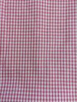 1/2 Yard Homespun Cotton Fabric Red and White Plaid Christmas Holiday