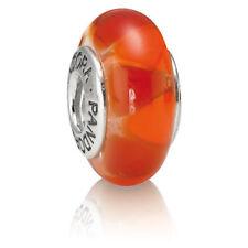 """Genuine Pandora Murano Glass Bead """"Captivating Red""""- 790639 - retired"""