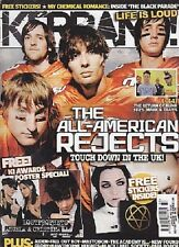 KERRANG MAGAZINE #1125 THE ALL AMERICAN REJECTS MY CHEMICAL ROMANCE MASTODON