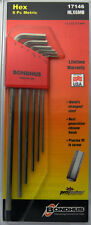 1.5 - 5mm X-Long Arm Hex End L-Wrenches 6pc Set w/BriteGuard™ Bondhus USA #17146
