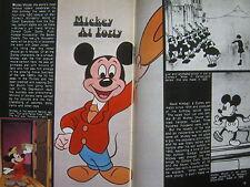 1968 TV Guide (MICKEY MOUSE AT FORTY//WALT  DISNEY/IRENE TSU/GLENN FORD/APOLLO 8