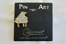 Spoontiques Pin Art Music Tac Pin Piano J1088 Austrian Crystal