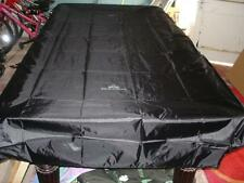 Fitted Black 6ft PERADON Pool Table Cover by Peradon