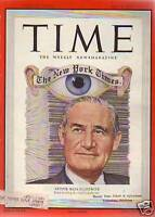 1950 Time May 8-Mafia Frank Costello testifies; India