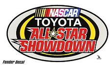 NASCAR Toyota All Star Showdown Decal