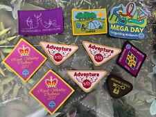 More details for girlguides badge bundle x10 camp mega day adventure 100 royal wedding brownie