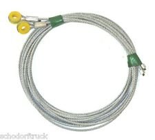 "Whiting Truck & Trailer Overhead Door Cables, 130"" with 5/16"" eye, pair"