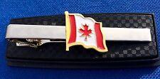 Canada flag tie clip Canadian flag tie clasp
