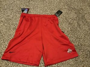 Ohio State Buckeyes Nike Shorts On-Field Coaches Men's Size: Small NWT Red