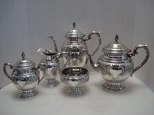 "International Sterling Silver Tea Coffee 5-Piece Set  C 370 C ""Lord Saybrook"""