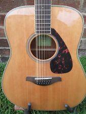 12 string acoustic guitar new yamaha fg 820 12