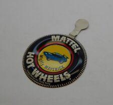 Redline Hotwheels Button Badge Metal Hong Kong Mighty Maverick R17186