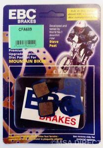 EBC Resin (GREEN) Mountain Bike Brake Pads (ONE PIECE PAD) Fits MAGURA MT5 / MT7