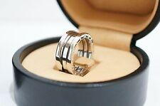 bvlgari 18k white gold bzero1 3band ring size us4 eu47