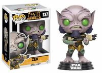 Funko Pop Star Wars Rebels Zeb Vinyl Action Figure