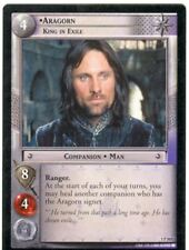 Lord Of The Rings CCG FotR Card 1.P365 Aragorn King In Exile