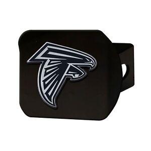 Fanmats NFL Atlanta Falcons 3D Chrome on Black Metal Hitch Cover Del. 2-4 Days