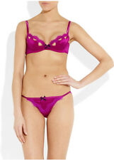 AGENT PROVOCATEUR LAVELLE BRA AND THONG SET SIZE 36A XLARGE / 5 / 14-16 RRP £210