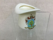 "Vtg Foley (Pre-Shelley) China ""Colwyn Bay"" Crest Crested Ware Figural Top Hat"