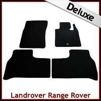 Land Rover Range Rover Mk3/L322 2002-2012 Tailored LUX 1300g Carpet Mats BLACK