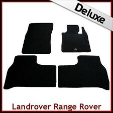 Land Rover Range Rover Mk3/L322 2002-2012 Tailored LUX 1300g Carpet Mats BLACK