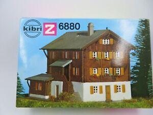 Z Scale Kibri  Mountain Chalet Building Kit 6880