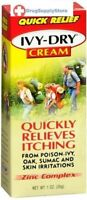 Ivy Dry Cream 1 oz anti itch poison ivy rash itching