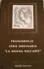 Italia 1999 2000: Donna nell'Arte OMAGGIO [Tiratura 300] Tessera Filatelica