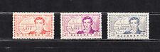série  timbres  avant indépendance  René Caillié  Dahomey  neuf num: 110/12  **