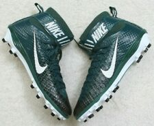 New Nike Football Cleats Shoes 15 Green Black White Mens Athletic 49.5 European