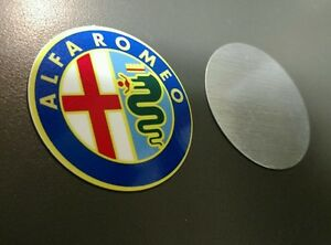 Alfa Romeo wheel center discs ...set of 4
