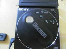 USED SONY D-88 POCKET DISCMAN IN GREAT LOOKING/WORKING ORDER W/REMOTE BATTERY