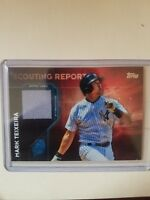 2016 Topps Scouting Report Relics #SRR-MT Mark Teixeira New York Yankees Card