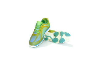 Footjoy Women Size 7.5 Green/Blue Spikeless MaxGrip Empower Golf Shoes