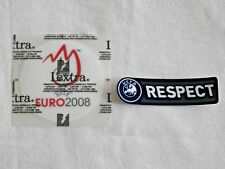 UEFA EURO CHAMPIONS 2008 and RESPECT BADGES / PATCHES Real pics