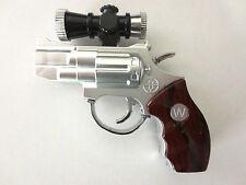 Scioccante Pistola Puntatore laser/torcia SCHERZO REGALO PISTOLA Novità Scherzo Shock e età 14 +