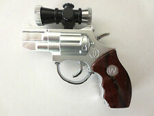 SHOCKING PISTOL LASER POINTER/TORCH JOKE GIFT GUN NOVELTY JOKE E SHOCK Age 14 +